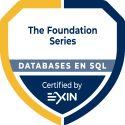 Exin Databases & SQL Foundation gecertificeerd.
